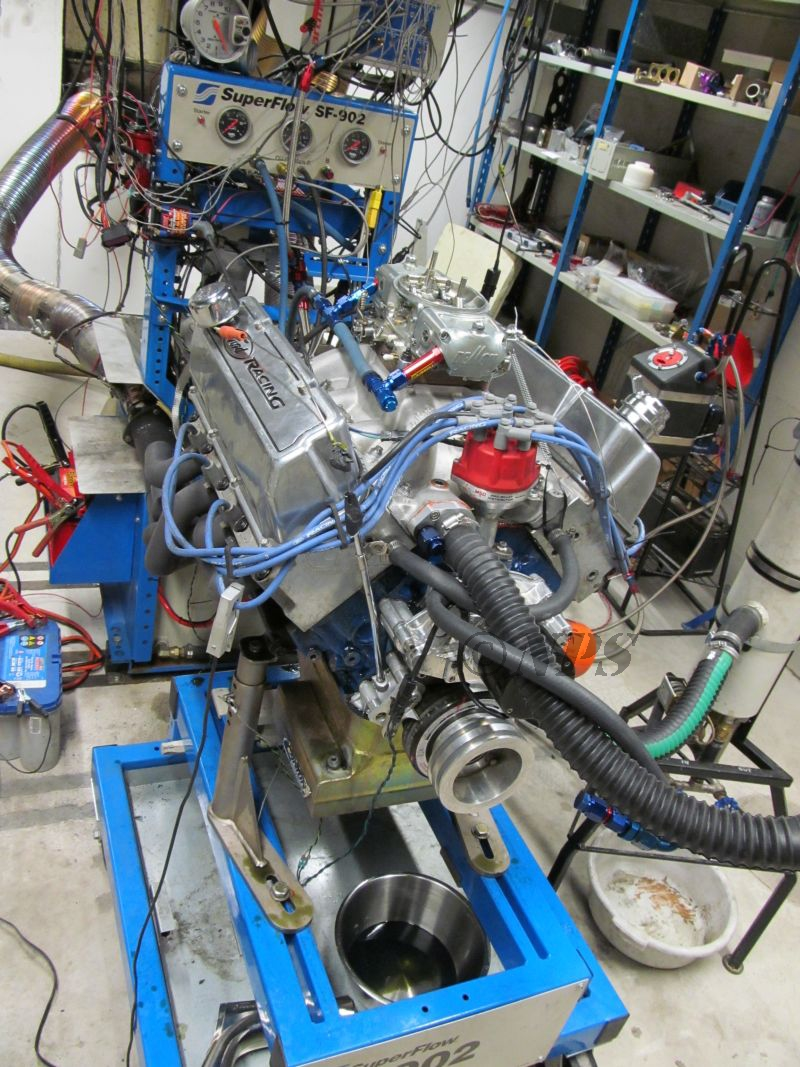 Ford V2 CHI 190cc, Street engine, Racers Place Dyno