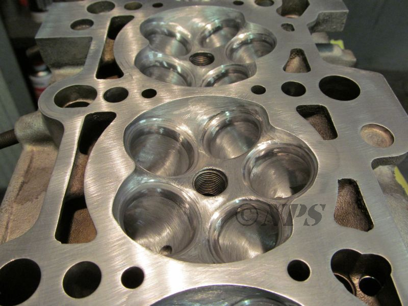 AEB Ported combustion chamber
